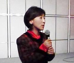 iAO 2018 김정혜 조직위원장.
